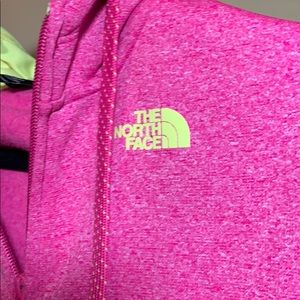 Zip Up North Face